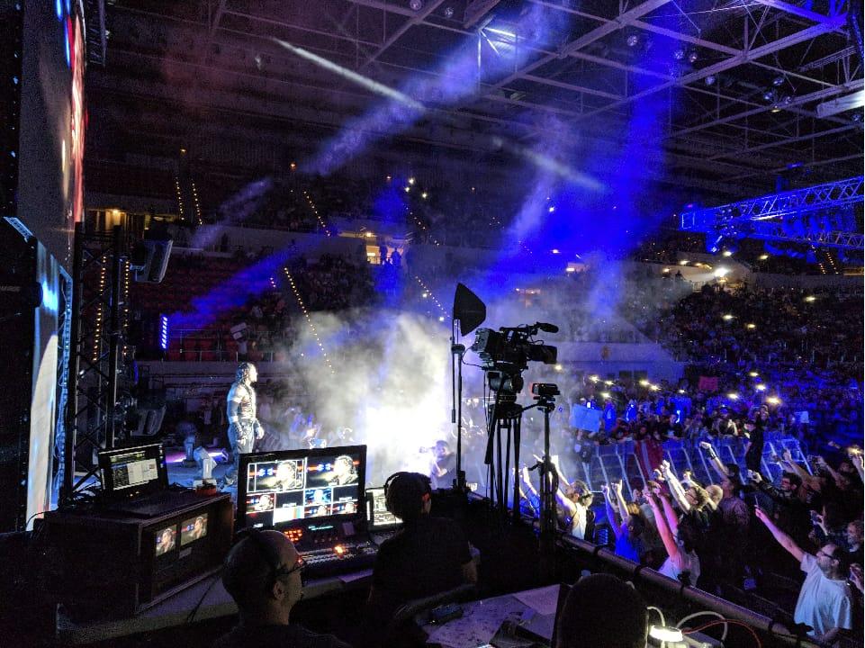evento deportivo world wrestling