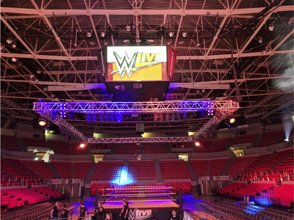 evento world wrestling madrid